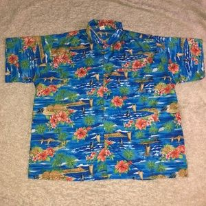 Tropical Rima beach top Mens Size XL